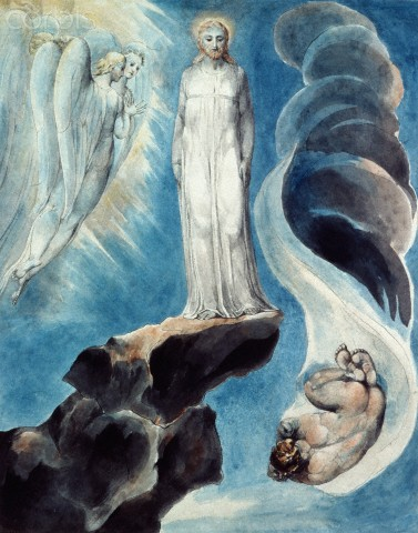 The Third Temptation by William Blake