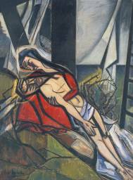 Pieta 1950 by Roy De Maistre 1894-1968